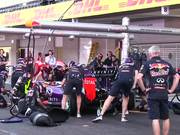Red Bull Racing Pit Stop Practice