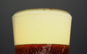 Appetizing Beer Pour