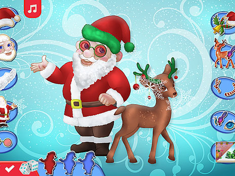 Merry Christmas Dress Up Mobile