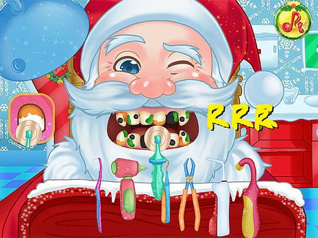 Play Christmas Dentist game online - Y8.COM