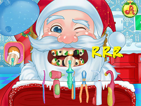 Christmas Dentist game