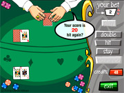 Play Black jack Game