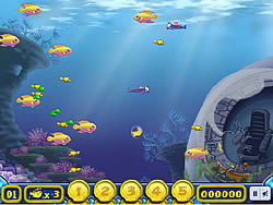 Growing Fish game
