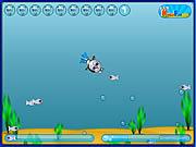 Cat-Diver game
