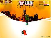 Urban Snowboarding game