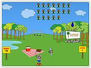 Play Slingshot picnic defender Game