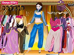 Ayesha Oriental Girl Dressup game