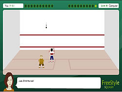 Freestyle Squash game
