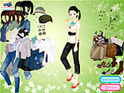 Green Day Dressup game