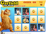 Garfield Memory Game game