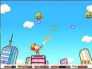 Play Ufo shooting girl Game