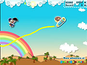 juego Make Happy Umbrella Man