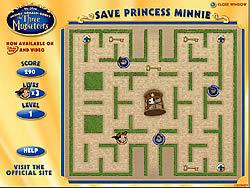 Save Princess Minnie game