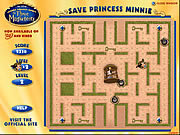 Save Princess Minnie game