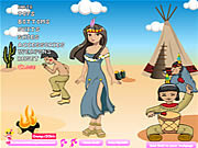Play American indian girl Game