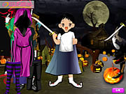 Halloween Cute Dressup game