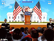 Play Presidential toss off Game