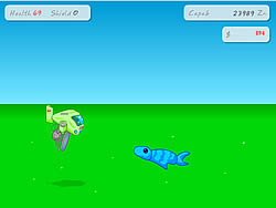 Air Fishing game