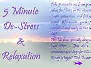 Watch free cartoon 5 Minute De-Stress & Relaxation