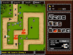 Village Defense game