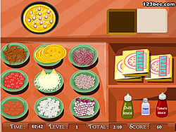 Pizza Shop game