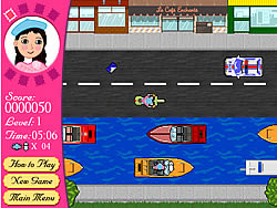 An American Girl in Paris game