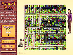 Marisol's Maze game