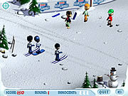 Ski Slope Showdown game