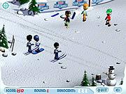 Ski Slope Showdown game