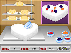 Fruit Frosting game