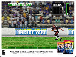 Punt the Ref game