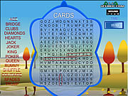 Play Word search gameplay 4 cards Game
