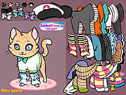 Meow Meow Dressup game