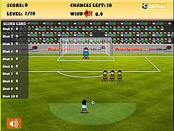 Best Free Kick game
