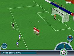Baggio Magic Kicks game