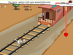 Train Shootout game