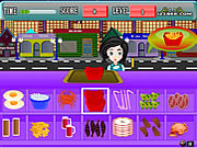 Play Fast food center Game