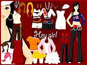 Hey Girl Dressup game