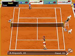Grandslam Tennis game
