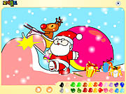 Santa Claus Painting game