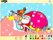 Santa Claus Painting game