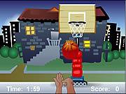 Play A basketball game Game