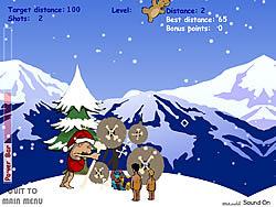 Stoneage Santa game
