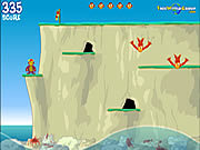 Monkey Cliff Diving game