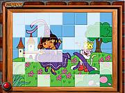 Sort My Tiles Dora the Queen game