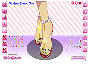 Play Fashion dream toes Game