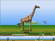 Yeti Sports (Part 5) - Flamingo Drive game