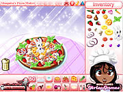 Shaquita Pizza Maker game