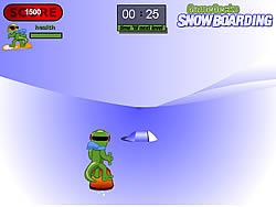 Snowboarding game