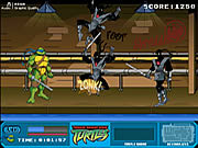 juego Teenage Mutant Ninja Turtles - Foot Clan Street Brawl